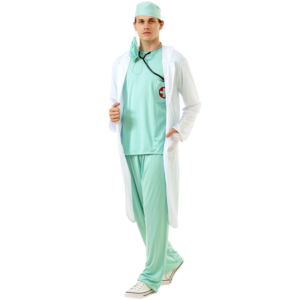 Dashing Doctor Adult Costume, L
