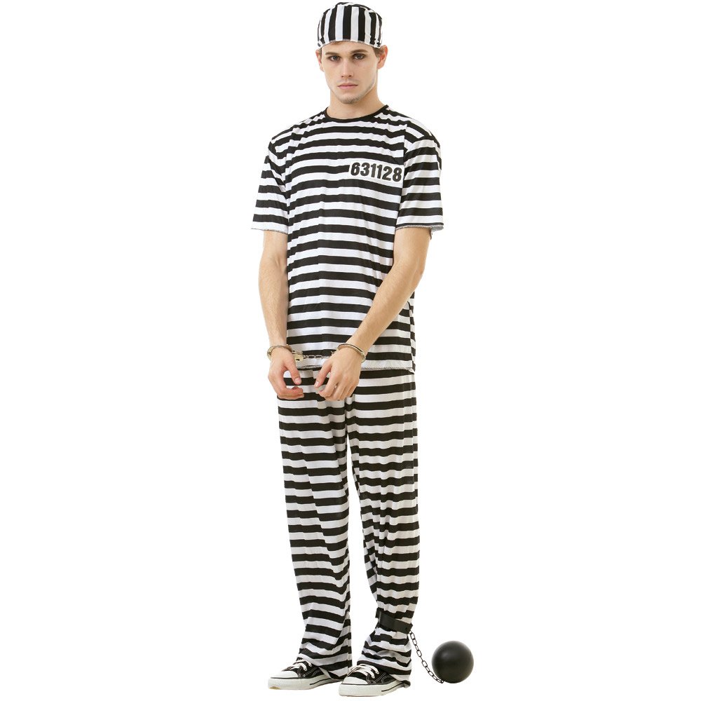 Classic Crook Adult Costume, L