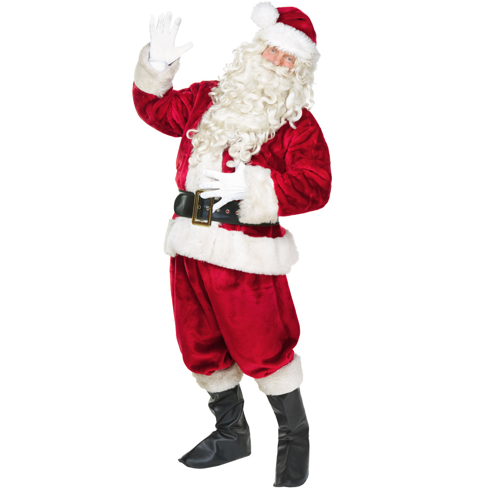 Jolly Ol' St. Nick Adult Costume, L