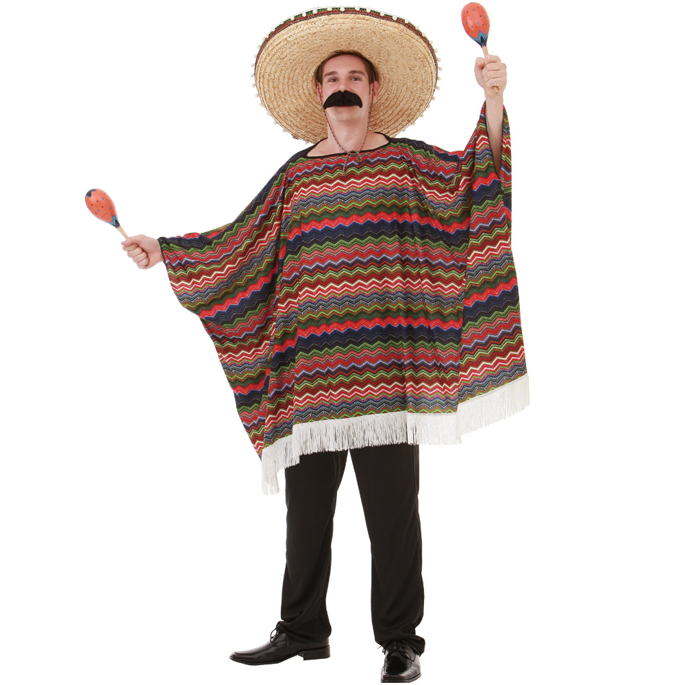 Saltillo Serape Adult Costume