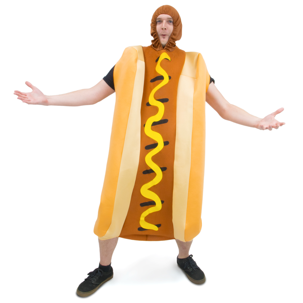 Footlong Hot Dog Adult Costume
