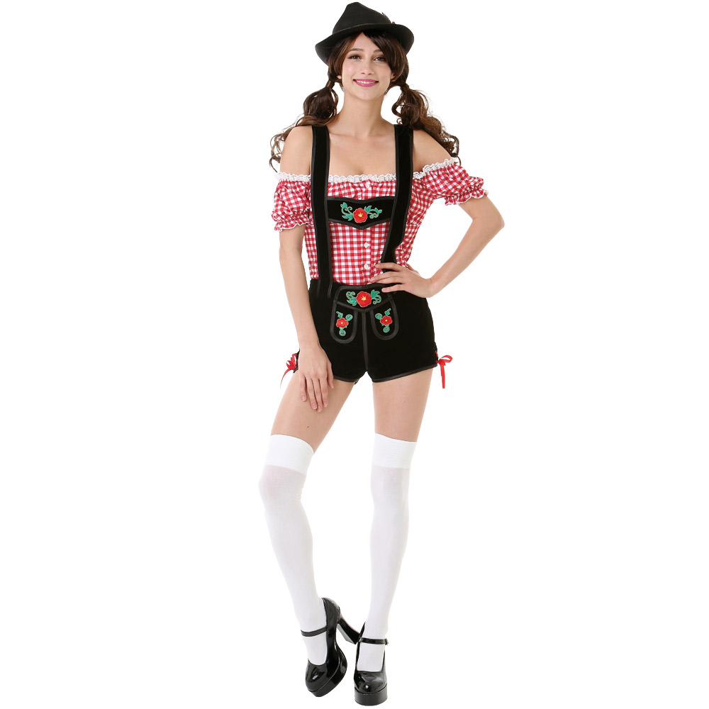 Bavarian Beauty Adult Costume, L