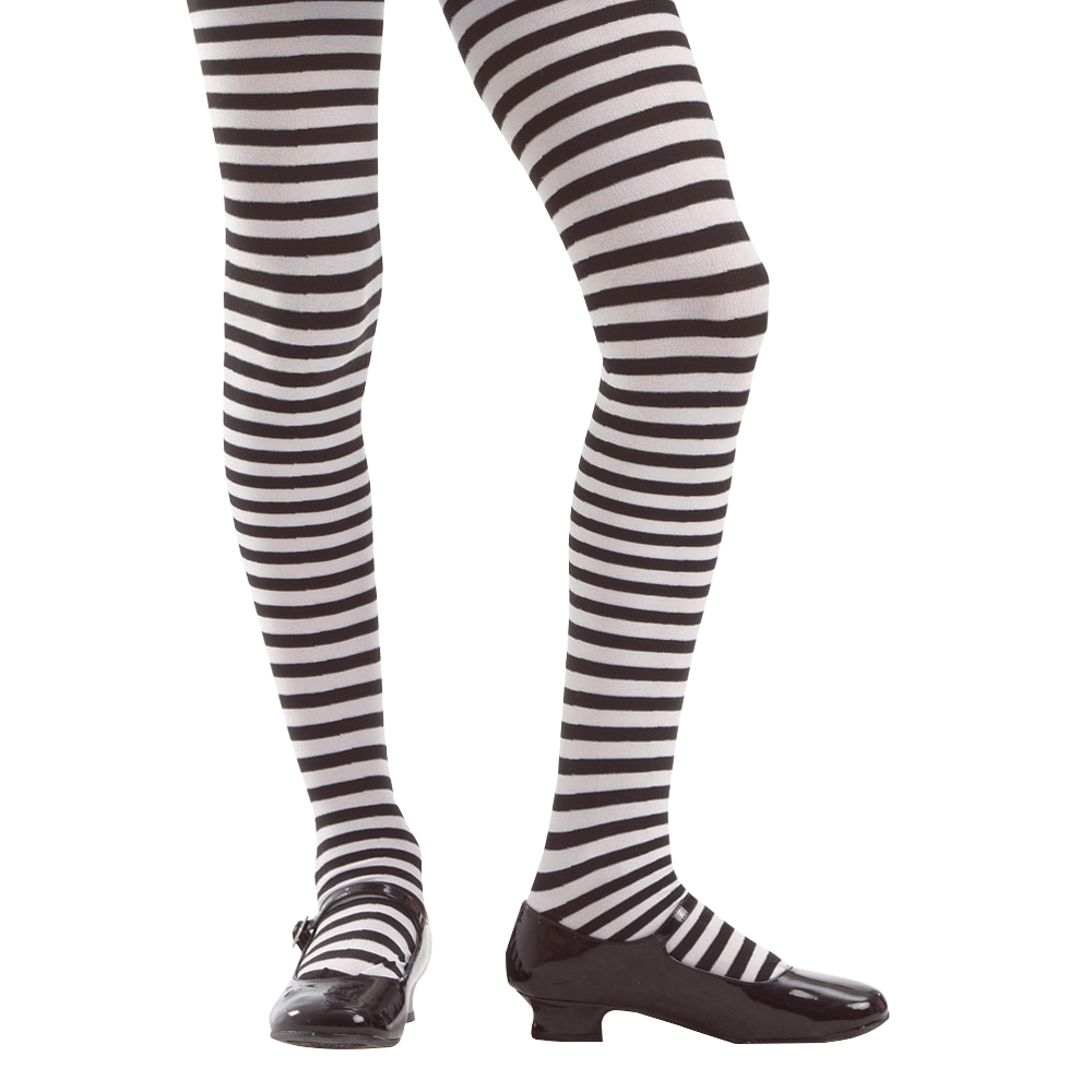 Striped Costume Tights, L