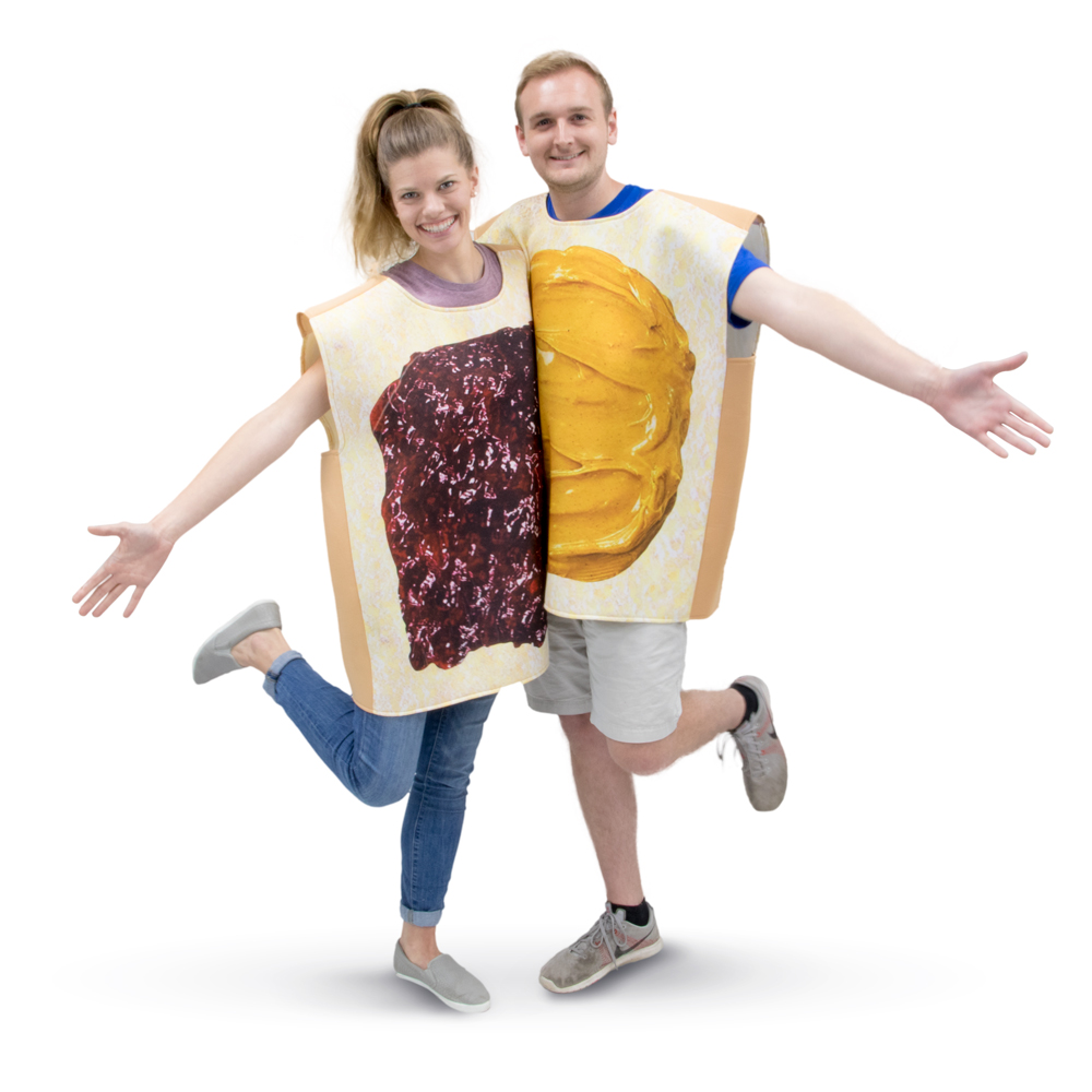 Peanut Butter and Jelly Costumes
