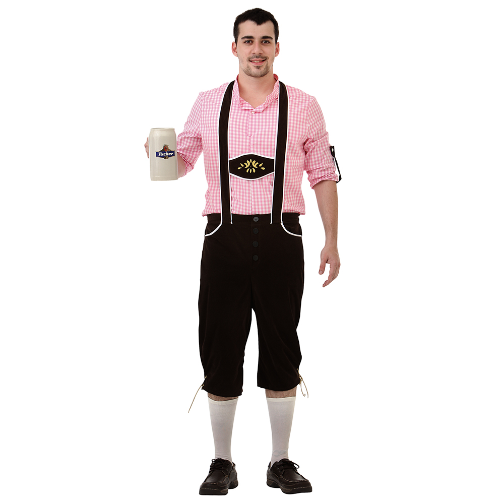 Bavarian Bundhosen Halloween Costume, Medium