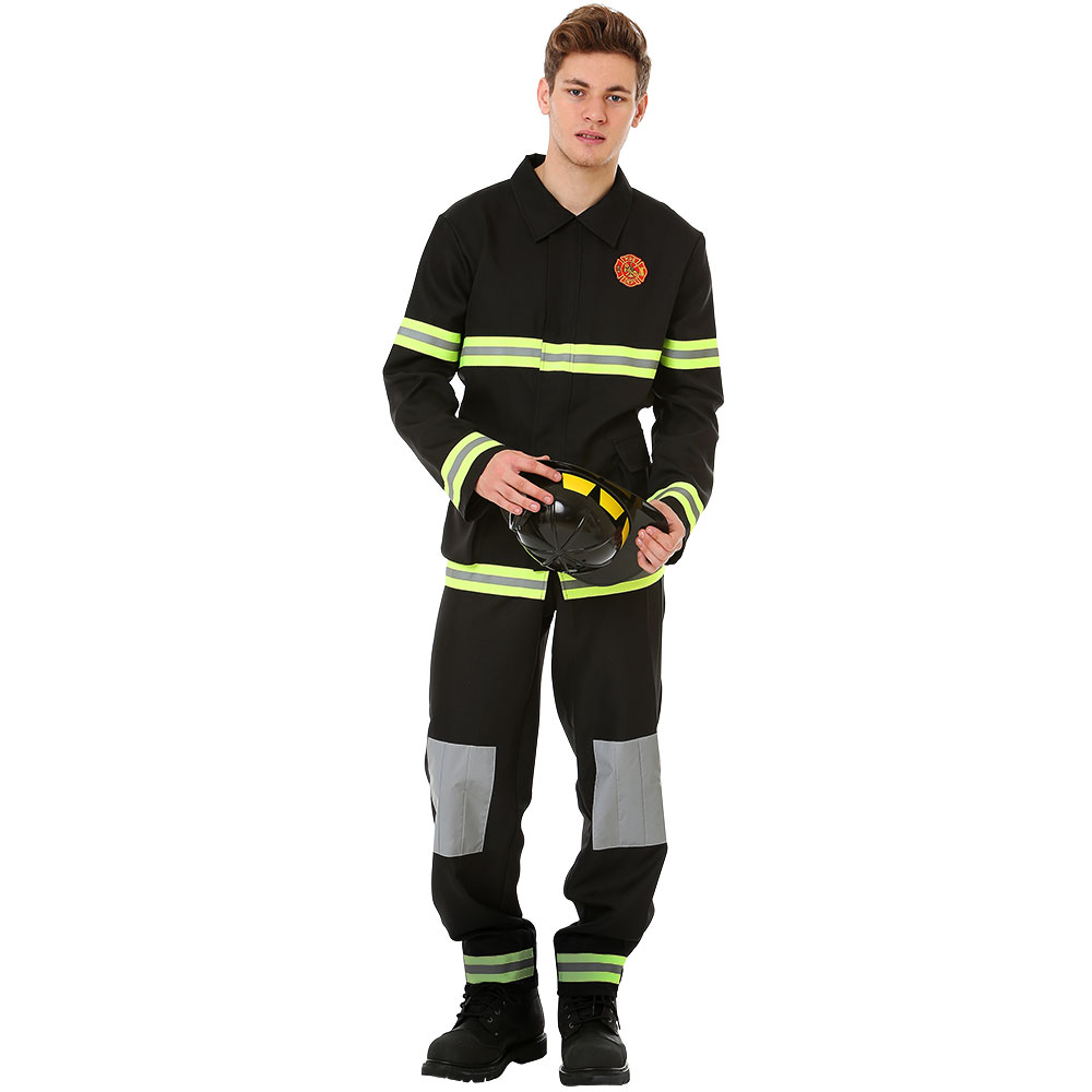Five-Alarm Firefighter Halloween Costume, X-Large