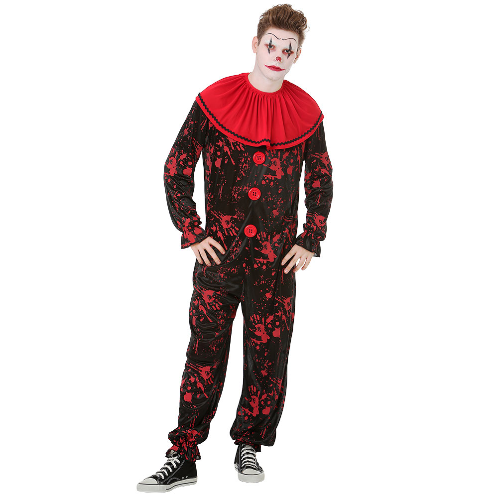 Crimson Clown Costume, XL