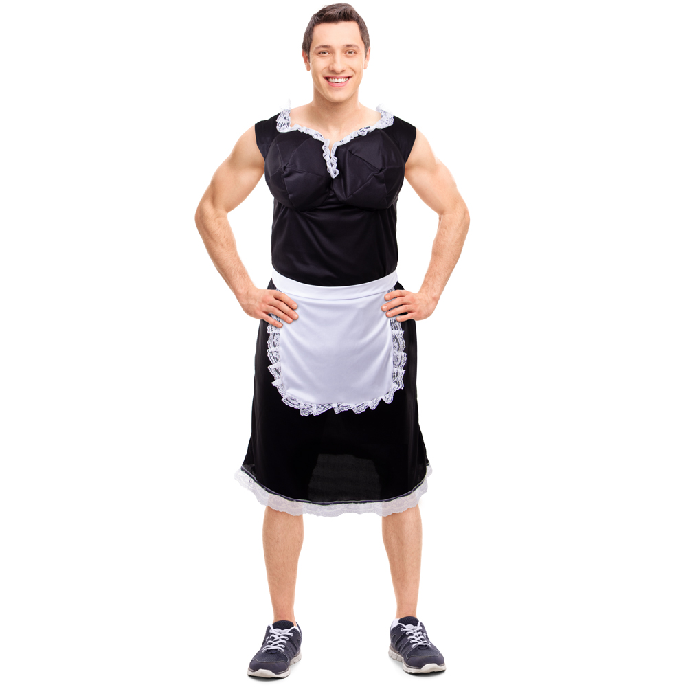 Busty French Maid Costume, XL