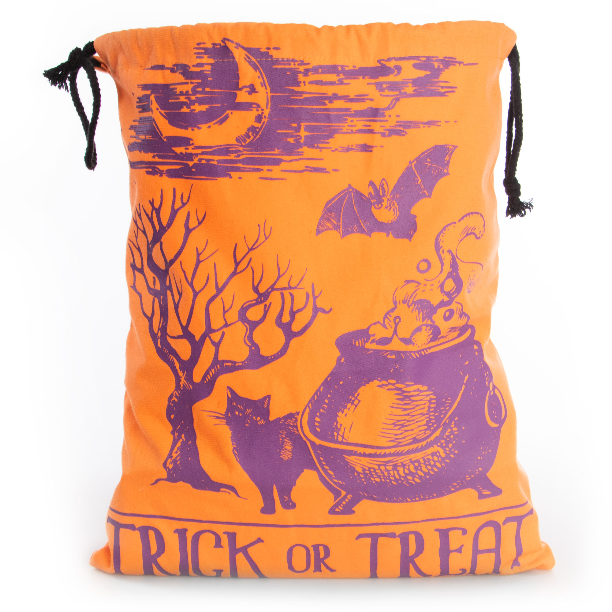 Canvas Trick or Treat Bag