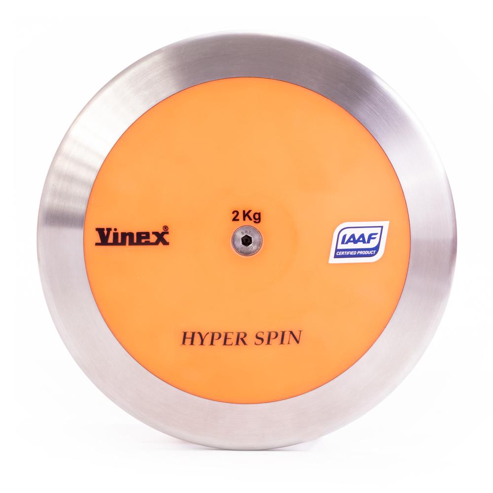 Hyper Spin Discus, 91% Rim Weight, 2kg