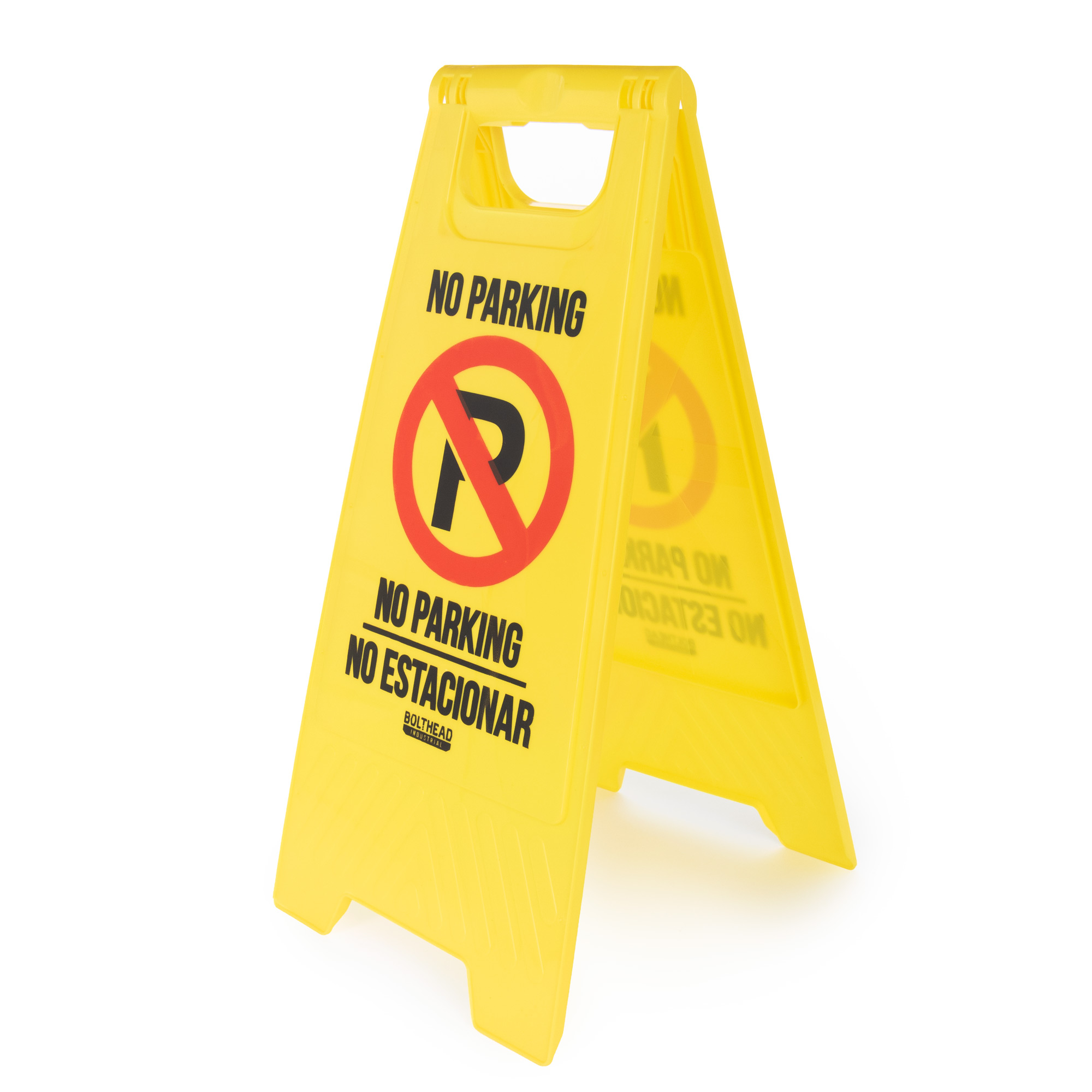 No Parking High-Visibility Floor Stand