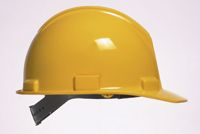 Bullard+ 5100 Series Yellow Safety Cap With Self-Sizing 4-Point Suspension And Microporite+ Brow Pad