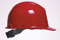 Bullard+ 5100 Series Red Safety Cap With 4-Point Ratchet Suspension