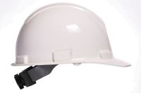 Bullard+ 5100 Series White Safety Cap With 4-Point Ratchet Suspension
