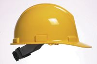 Bullard+ 5100 Series Yellow Safety Cap With 4-Point Ratchet Suspension