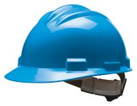 Bullard+ S61 Series Blue Safety Cap With 4 Point Ratchet Headgear And Cotton Browpad