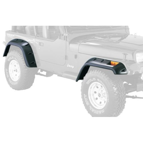 Cut-Out Style YJ Wrangler Fender Flare Set