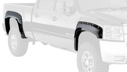 Chevrolet Silverado Cut-Out Fender Flare Set