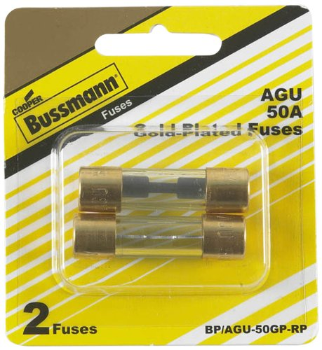 50 AMP GOLD PLATED FUSE