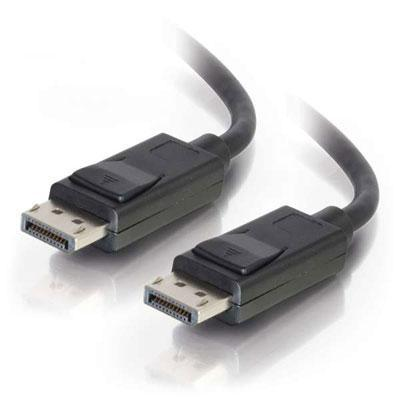 3' DisplayPort M to M Cable Black