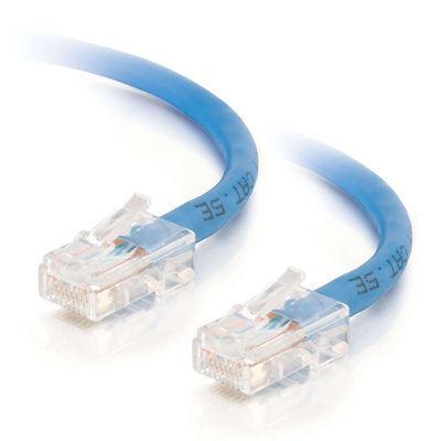 3' Cat5E Patch cable Blue