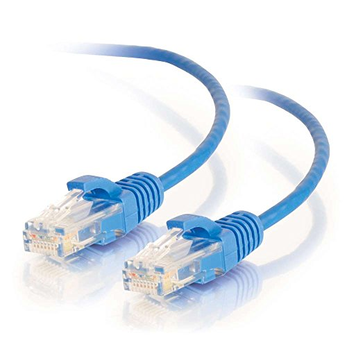 1.5FT CAT6 UTP 28AWG BLUE