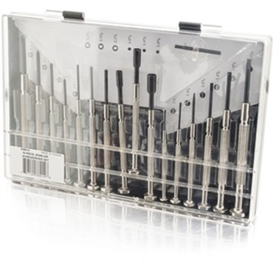 16 Pc Jeweler Screwdriver Set