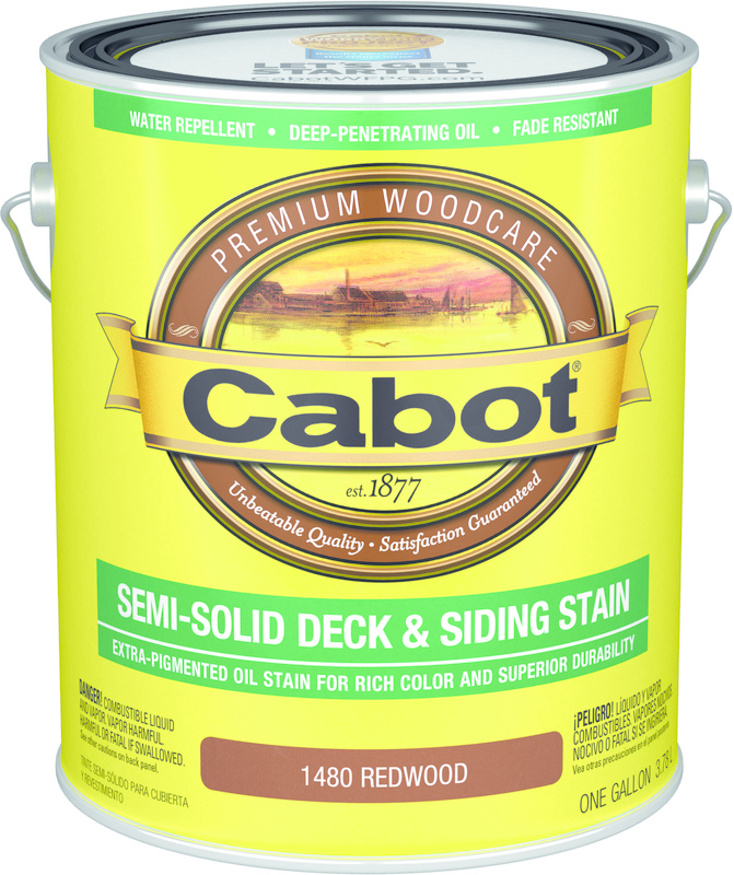 140-1480 1 Gallon Redwood Deck Stain