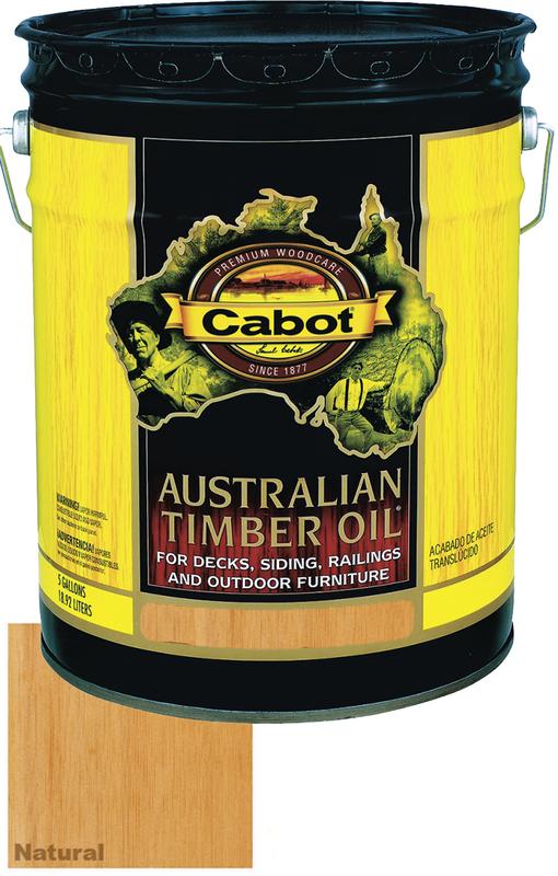 05-9400 5G NAT AUST TIMBER OIL