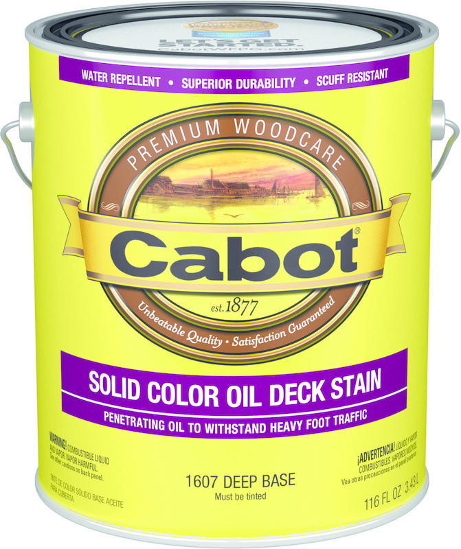 01-1607 1 Gallon Deep Oil Deck Stain