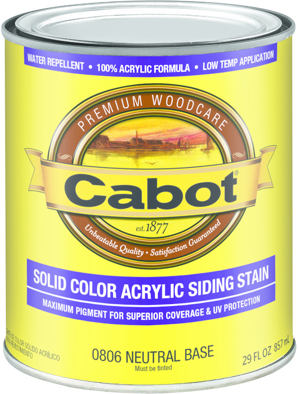 04-0806 Quart Neutral Base Provt Stain