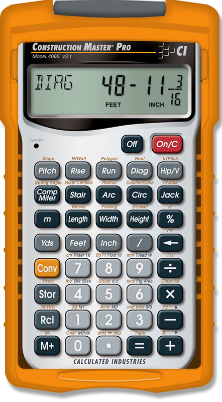 4065 MASTER PRO CALCULATOR