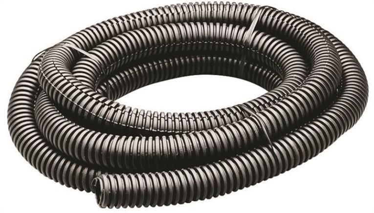 Calterm 73457 Flexible Tube, 3/4 in x 3 ft 3 ft, Black