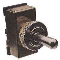 Calterm 45100 Automotive Heavy Duty Toggle Switch, 12 VAC, 20 A, Black