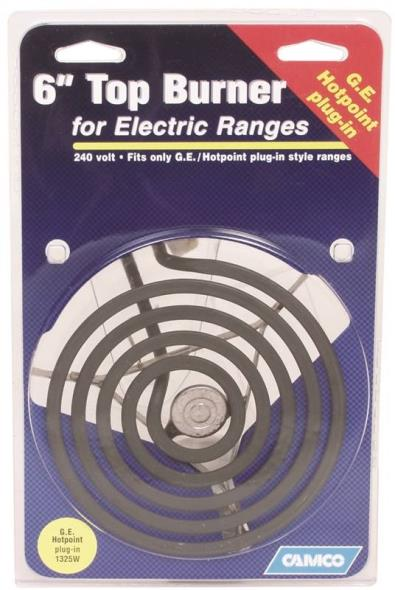 "00103 6"" Ge/Hotpoint Top Burner Plug-In For Electric Ranges"