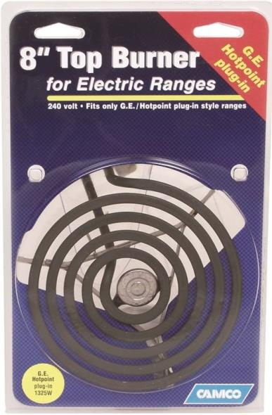 00103 Ge/Hotpoint Top Burner Plug-In For Electric Ranges, 6-Inch
