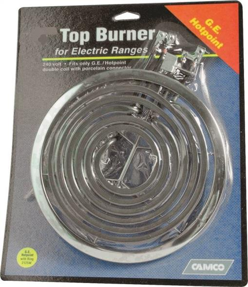 "00183 7"" Ge/Hotpoint Top Burner With Trim Ring"