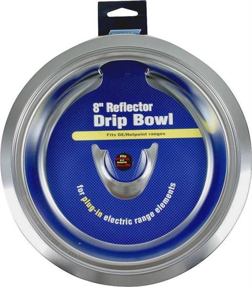 BOWL DRIP PLUGIN GE/HP 8IN