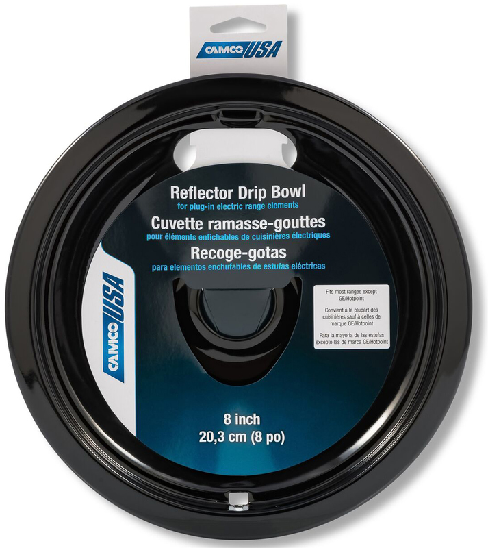 00513 8 IN. BLACK REFLECTOR BOWL