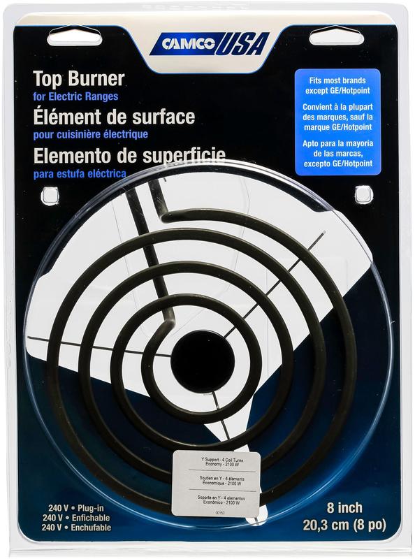00153 8 IN. X3 PLUGIN BURNER