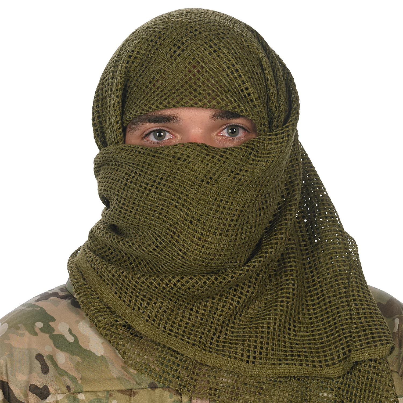 Sniper Face Veil, Olive