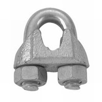 Cambell T7670479 Wire Rope Clip, 1/2 in, Malleable Iron