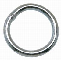 Campbell T7660841 Welded Ring, NO 4, 1-1/4 in L X 0.22 in Wire Size