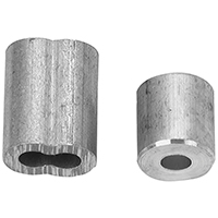 Campbell B767-5314 Cable Ferrule/Stop, 3/32 in Rope, Aluminum