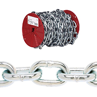 CHAIN PROOF COIL 3/8X35FT