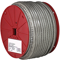 CABLE VINYL COATED 1/8X250FT