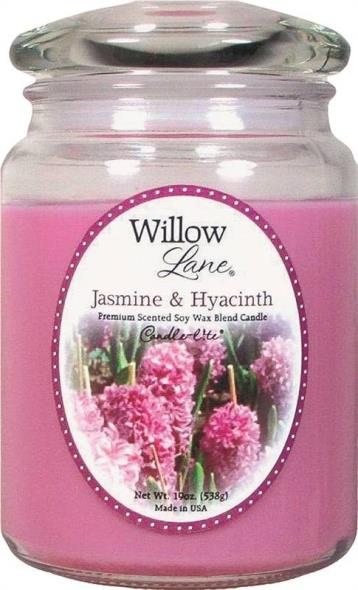19OZ JAR CANDLE JASMINE HYAC