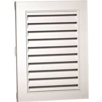 Canplas 626080-00 Rectangular Gable Vent, 44 sq-in, Polypropylene