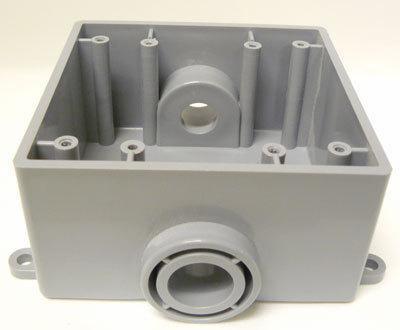 5133371U 3/4 IN. TWO GANG FSC BOX