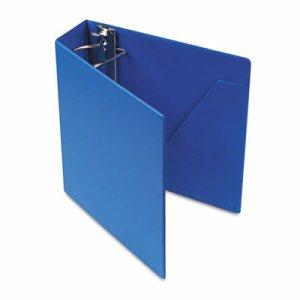 "SuperStrength Locking Slant-D Ring Binder, 3"" Cap, 11 x 8 1/2, Blue"